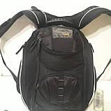 Школьный рюкзак Onepolar W1284 черный качественный городской надежный, фото 5