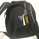 Школьный рюкзак Onepolar W1284 черный качественный городской надежный, фото 6
