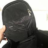 Школьный рюкзак Onepolar W1284 черный качественный городской надежный, фото 8