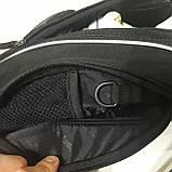 Школьный рюкзак Onepolar W1284 черный качественный городской надежный, фото 9