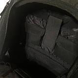 Школьный рюкзак Onepolar W1284 черный качественный городской надежный, фото 10