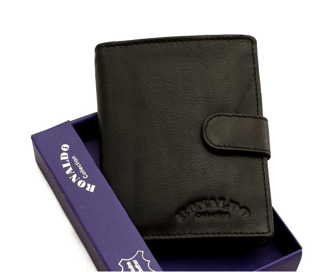 Мужской кошелек Ronaldo  из натуральной кожи (Италия) код  341
