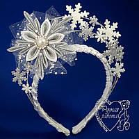 Ободок, корона снежинки Снежинка