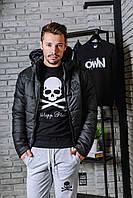 Куртка Philipp Plein с черной вставкой