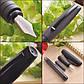 Ручка перьевая Faber-Castell Essentio Black Carbon карбоновый корпус , перо F, 148821, фото 6