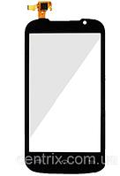 Тачскрин (сенсор) для Prestigio PAP3400 DUO MultiPhone, черный, #CS040X-LC03A