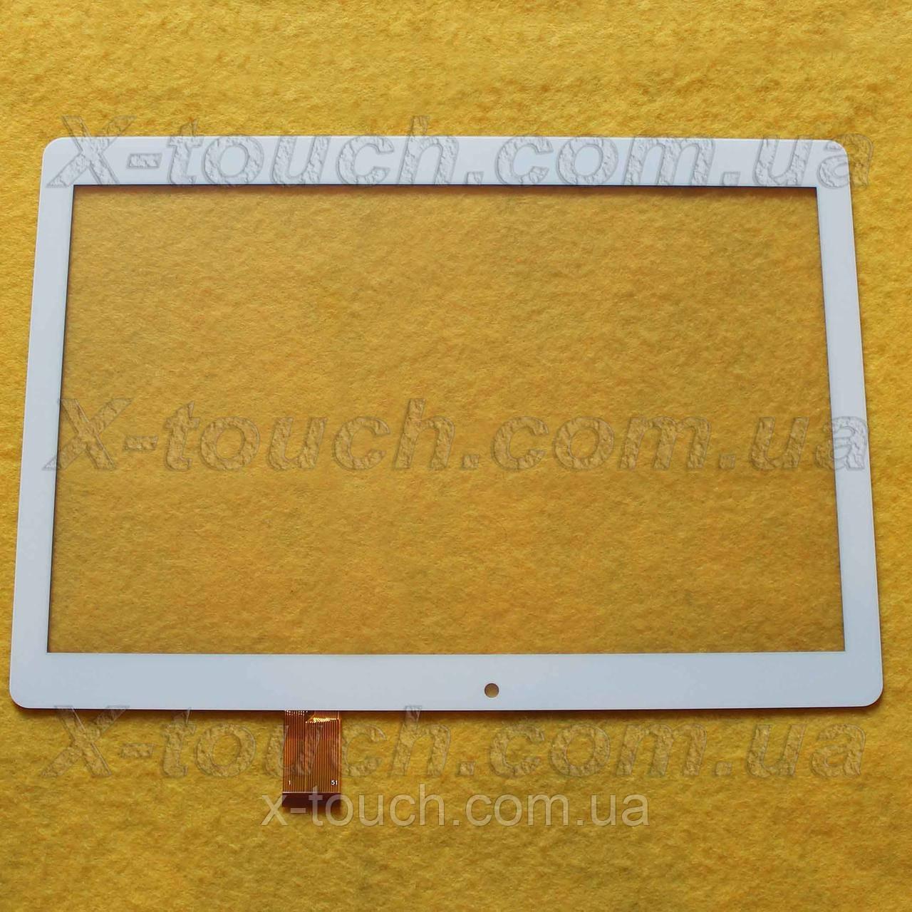 Тачскрин, сенсор kingvina PG1039 для планшета, белого цвета.
