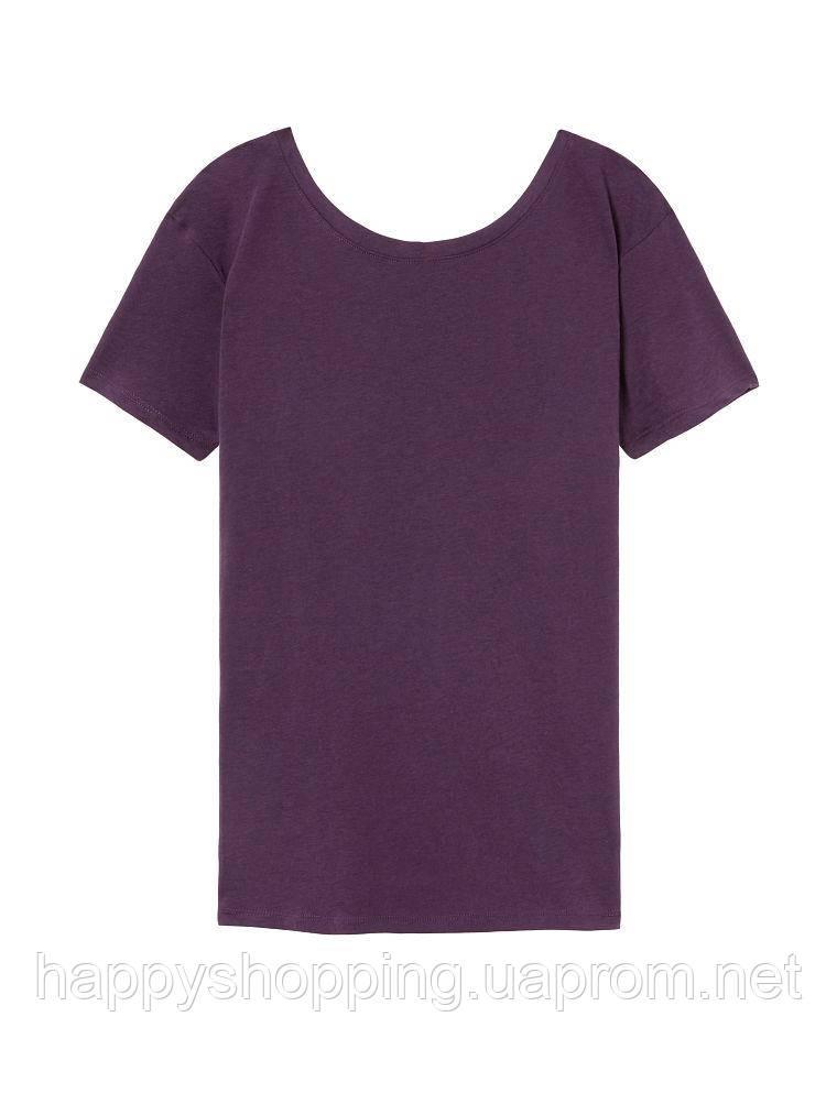 Женская фиолетовая  футболка для спорта Victoria's Secret