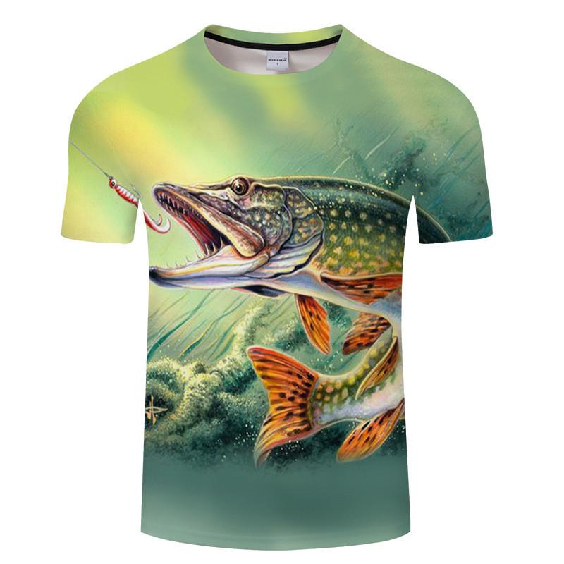 Купить Мужская футболка 3D - Рыбалка зовёт!