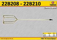 Мешалка для гипсовых растворов Ø-80мм,  TOPEX  22B208