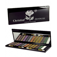 Набор матовых теней для век (14 цветов) Christian