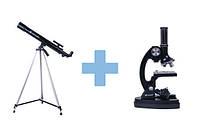 Телескоп и микроскоп набор, фото 1
