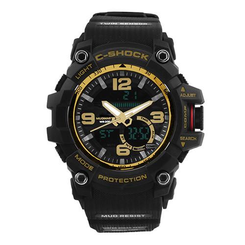 Часы наручные C-SHOCK GG-1000 Black-Gold, Box
