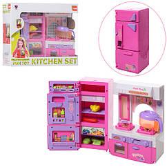 Мебель XS-14012 кухня, холодильник, плита, продукты