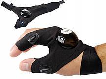 Светодиодная перчатка - рукавица LED для механиков GEKO G02930