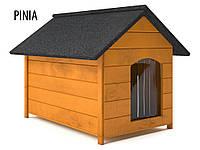 Деревянная будка для собаки