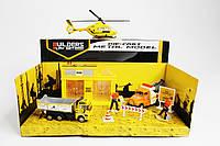Игровой набор Дорожные работы, металлический Kronos Toys GZ3134C/36C/4 (tsi_30604)