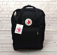 Рюкзак в стиле Fjallraven Kanken с отделением для ноутбука черный