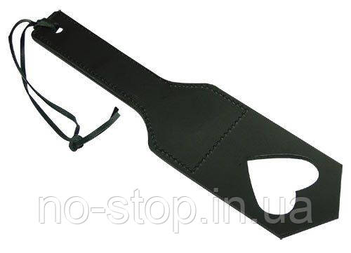 Плетка - Le Herzpaddel, black