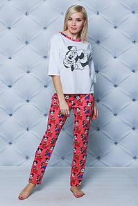 Пижама со штанами женская Микки