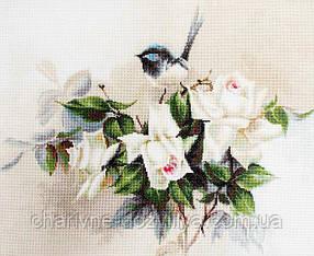 """Набор для вышивания крестиком (цветы) """"Птичка"""""""