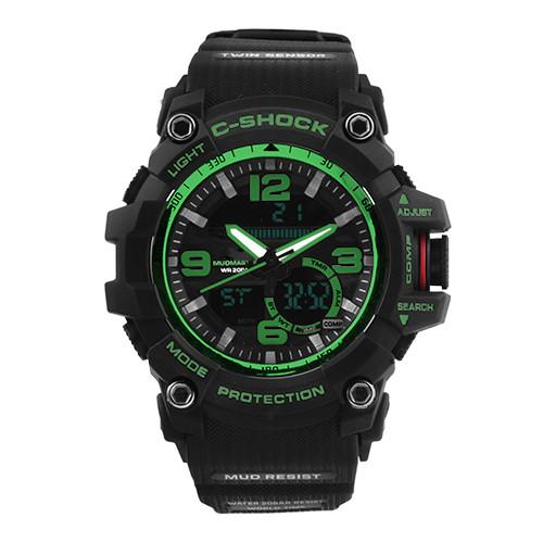 Часы наручные C-SHOCK GG-1000 Black-Green