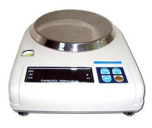 Весы электронные лабораторные аналитические 1200 грамм MW CAS