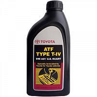 Масло трансмиссионное Toyota ATF Type T-IV (00279000T4) 0.946 л.