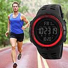 • Оригинал! Skmei Amigo 1251 Red    Cпортивные мужские часы !, фото 4