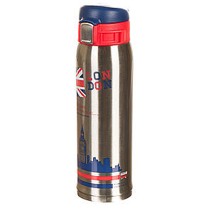"""Термос металлический, серия """"United Kingdom"""", 450мл *(рандомный выбор дизайна) (0569J), фото 2"""