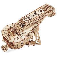 UG Механический 3D пазл Харди-Гарди (муз.инрстумент)  (292 детали), фото 1