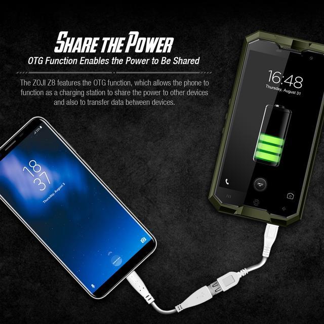Описание Cмартфон HomTom Zoji Z8 Black IP68 4 64Gb 4250 mAh 8 ядер 2 sim e60115460a444