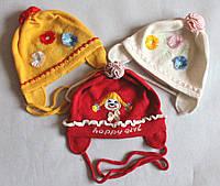 Шапочка для девочки 7.1 р. 38 -42 Ambra (Польша)