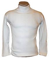 Водолазка белая кашкорсе  (от 9 до 12 лет)