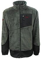 Мужская флисовая куртка Салаир Tramp Хаки (TRMF-007)