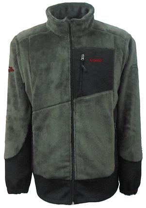 Мужская флисовая куртка Салаир Tramp Хаки (TRMF-007), фото 2