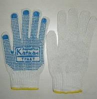 Перчатки х б трикотажные с пвх точкой