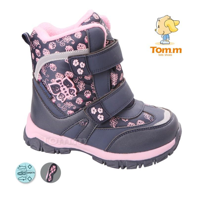 f7235547745420 Зимние супер теплые термо-ботинки на девочку Том.м 27-32, цена 585 ...