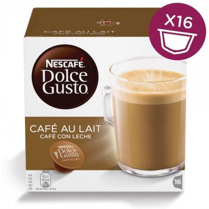 Кофе в капсулах NESCAFE Dolce Gusto Cafe Au Lait 16 шт. (Нескафе Дольче Густо)