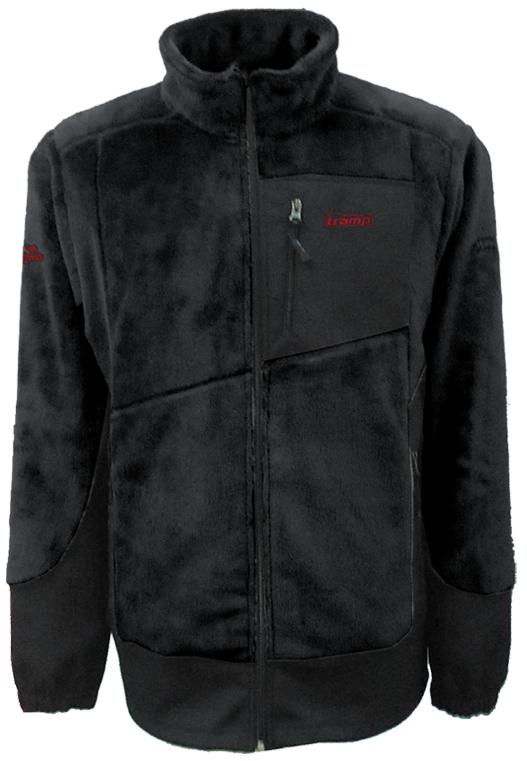 Мужская флисовая куртка Салаир Tramp Черный (TRMF-007)