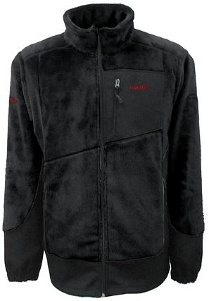 Мужская флисовая куртка Салаир Tramp Черный (TRMF-007), фото 2