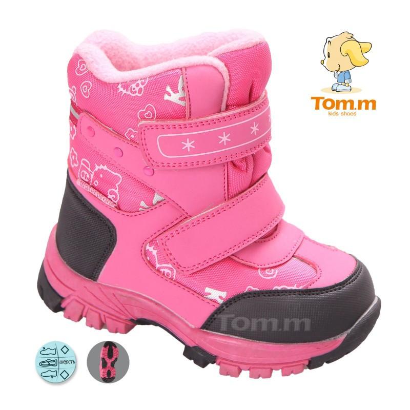 97edde0691cc7e Зимние супер теплые термо-ботинки на девочку Том.м 23-28, цена 575 ...