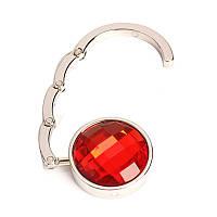 Крючок держатель для сумки Аметист, цвет - красный, с доставкой по Киеву и Украине