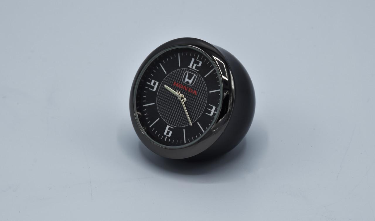 Часы в автомобиль Vehicle clock HONDA, хром/круглые автомобильные часы с маркой авто в Ходна подарок