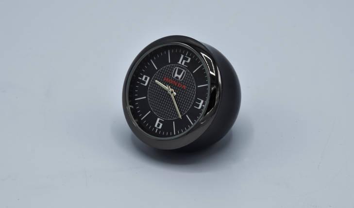 Часы в автомобиль Vehicle clock HONDA, хром/круглые автомобильные часы с маркой авто в Ходна подарок , фото 2