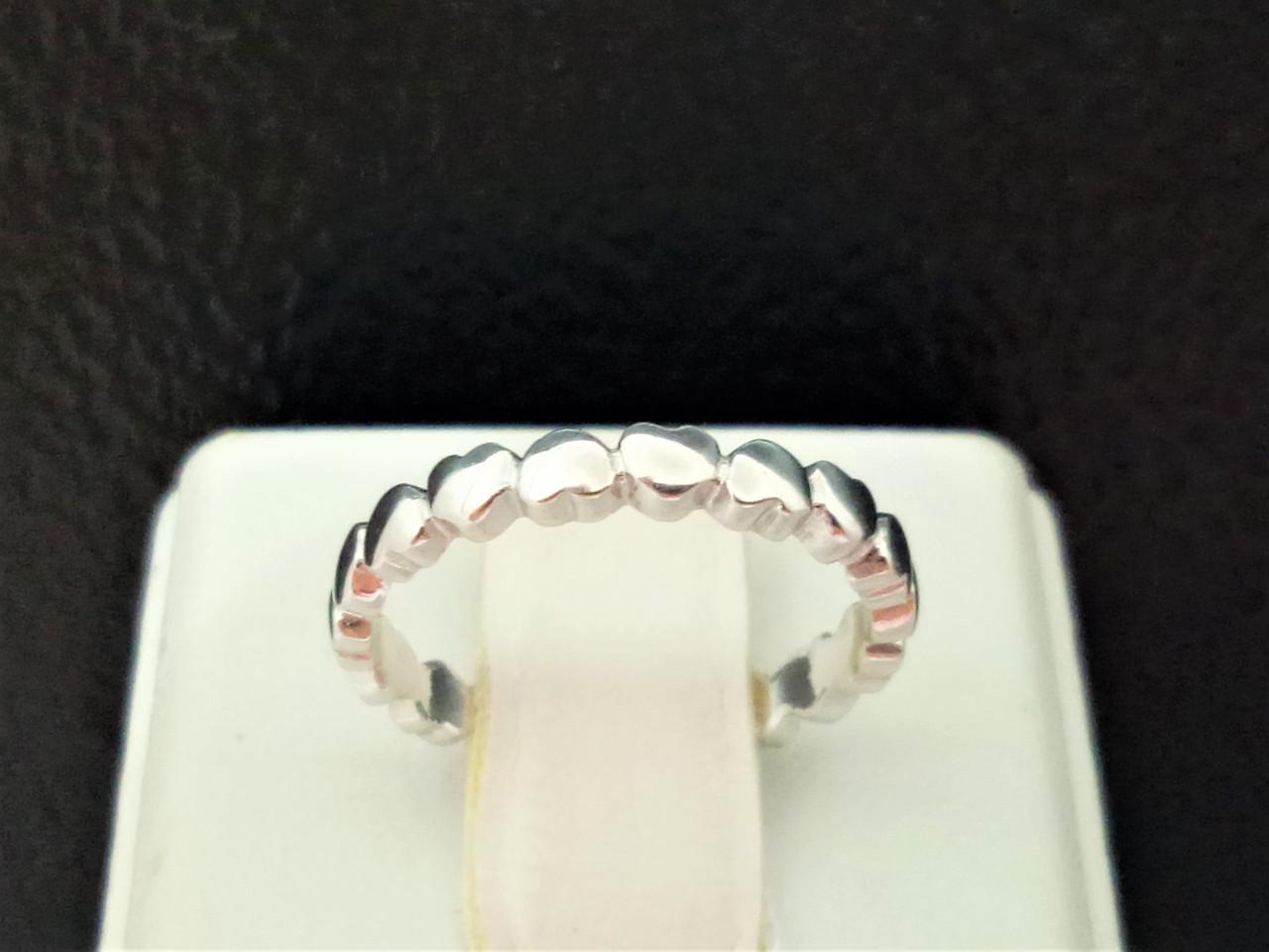 Серебряное кольцо. Артикул 1027Р 15