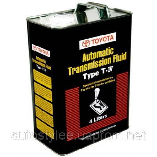 Масло трансмиссионное Toyota ATF Type T-IV (0888681015) 4 л.
