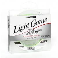 Шнур Team Salmo Light Game X4 Ultra PE 100м/0.042 мм