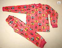 Детские пижама махровая для девочки 26-36 р.