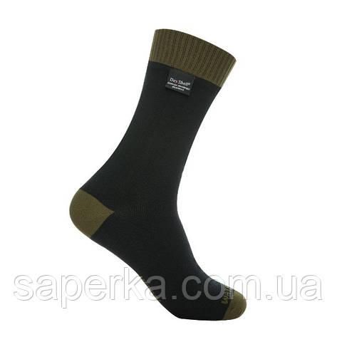 Водонепроницаемые носки Dexshell Thermlite Green, фото 2